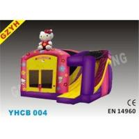 Buy cheap 3 in1 Hello Kitty Inflatable Combo Bouncers Houses YHCB-004 with Slide for Home from wholesalers