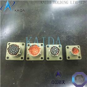 MIL-DTL-38999 Waterproof Electrical Connectors , Series II Round Electrical Connectors MS27473T16B35SN