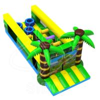 Latest Design Inflatable Kids Bouncer Play Ground Bouncer Obstacle Course For Children