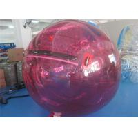 China Durable 1.0mm PVC Inflatable Multi Water Running Ball Backyard Crazy Water Balls on sale
