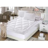 Wholesale 100% Micro Fiber Filling Hotel Mattress Topper Washable Multi Color ZB-MT-05 from china suppliers