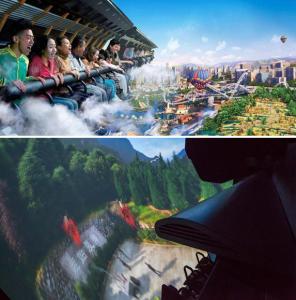 Quality Fantastic Dark Ride Pleasure Railways Creative Simulator New Entertainment for sale