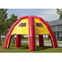 Wholesale Colorful Inflatable Advertising Tent , Inflatable Event Shelter 6.8 X 6.8 X 4.8M from china suppliers