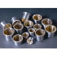 Flange Bi Metal Bearings Low Carbon Steel HB 40-60 Alloy Hardness