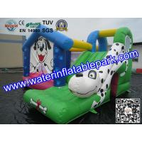 China Backyard Kids Small Inflatable Bouncy Castle with Slide Hire on sale