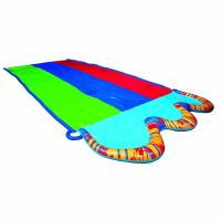 PVC Inflatable Water Slides 58 Inch Wide Surfboard Summer Outdoor Entertainment
