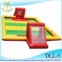 Wholesale Hansel Inflatable football field inflatable soccer field from china suppliers