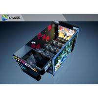 Wholesale Attractive Amusement 6D 7D XD Moving Cinema Theater System With Unique Water Spray / Fragrance Effects from china suppliers