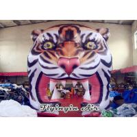 Wholesale Inflatable Tiger Head Tunnel, Inflatable Events Entrance, Inflatable Arch from china suppliers