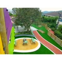 Wholesale 16 Colors Outdoor Play Area Flooring , Fragmented Recycled Rubber Flooring from china suppliers