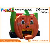 Wholesale Mini Inflatable pumpkin bounce house For Public / Festival Activity from china suppliers