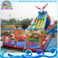 Wholesale Guangzhou QinDa inflatable castle,backyard cheap inflatable bouncers for sale from china suppliers