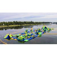 Inflatable Floating Water Sports Theme Park / Water Splash Park Installed In Milano