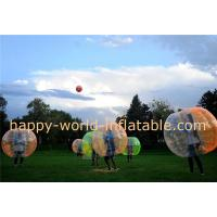 Wholesale soccer bubble ball , air bubble ball , giant human bubble ball , bumper ball body from china suppliers