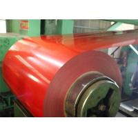 Buy cheap Ppgi Steel Coil / Colour Coated Steel Coils Zinc Coating 30 - 275g/M2 from wholesalers
