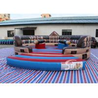 Wholesale 6m Dia. kids N adults ancient inflatable gladiator jousting arena with completely digital printing from china suppliers