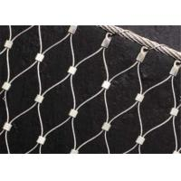 China X-tend Ferruled Climber Plant Trellis Mesh, Zoo Stainless Steel Wire Rope Mesh on sale