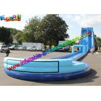 Wholesale Exciting big water pool inflatable water slide with swimming pool , bounce house jumpers from china suppliers