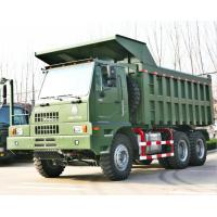 Buy cheap 6x4 Driving Mining Dump Truck , Heavy Duty 6x4 Tipper Truck 371hp / 420hp Engine Power from wholesalers