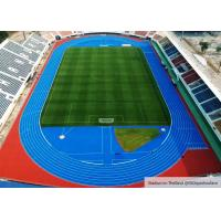 Large Construction Project Rubber Running Track For Stadium Flooring In Suphan Buri , Thailand