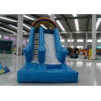 China Best sell inflatable classic water slide Inflatable straight single water slide for kids under 12 years old on sale