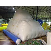 Wholesale PVC Tarpaulin Giant White Inflatable Water Toy / Inflatable Iceberg For Water Park from china suppliers