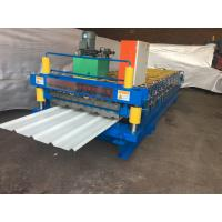 Wholesale Color Steel Corrugated Iron Roller Machine 13 Rows For Roof / Wall Panel from china suppliers