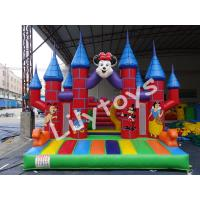 China PVC Customized Commercial Inflatable Bouncers Rentals , Bounce Castle With Quadruple Stitched on sale