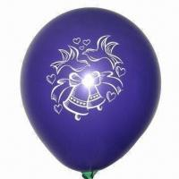 Wholesale Latex Christmas Balloon, Suitable for Party Decoration/Promotional Gifts, with EN 71 Certified from china suppliers