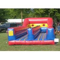 China Customized Inflatable Interactive Games Bungee Run Inflatables For Adults on sale