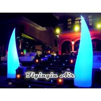 Wholesale 3m High Beautiful Inflatable Light Cone for Wedding Night and Stage from china suppliers