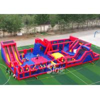 30x15m Kids N Adults Big Indoor Inflatable Amusement Park For Indoor Inflatable Playground Fun