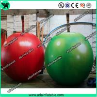 Wholesale Event Party Advertising Inflatable Fruits Model/Promotion Inflatable Apple Replica from china suppliers