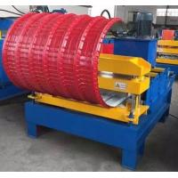 Wholesale Horizontal Curving Hydraulic Bending Machine , Roofing Hydraulic Metal Bender from china suppliers