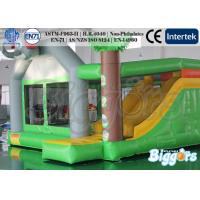 Wholesale Indoor Commercial Inflatable Bouncers Jungle , Funny Kids Combo Games from china suppliers