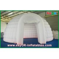 Wholesale OD 5m Inflatable Air Tent White , Inflatable Dome Tent For Exhibition from china suppliers