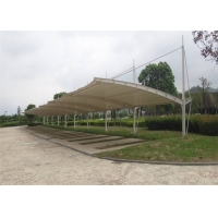 Buy cheap Customised Anti UV PVDF Fabric Car Parking Shed For House from wholesalers