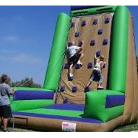 Wholesale Custom Made Commercial grade PVC tarpaulin Inflatable Climbing Wall Sports Games  from china suppliers