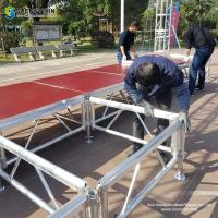 China Manufacturer cheap metal light cover roof concert aluminum stage truss structure system for sale on sale
