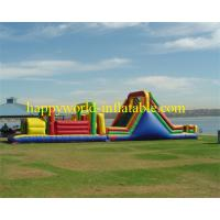Buy cheap adult inflatable obstacle course , giant inflatable obstacle course , obstacle from wholesalers