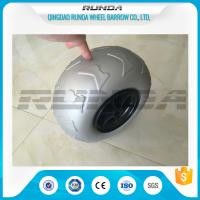 Wholesale 9 Inch Pneumatic Rubber Wheels PP Rim , Balloon Hand Truck Wheels Without Bearing from china suppliers