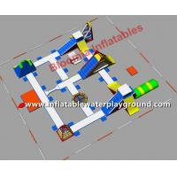 Buy cheap Large Floating Water Park Inflatable Amusement Park Used In Lake Or Ocean from wholesalers