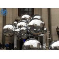 Wholesale Decorative silver color PVC Mirror Balls Inflatable Reflective Balloon For wedding party from china suppliers