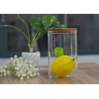 Wholesale Food storage and refresh borosilicate glass safe jar with cork lid from china suppliers