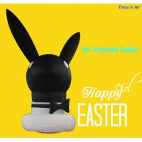 Wholesale OEM 3m Black Easter Inflatable Decorative Inflatable Rabbit from china suppliers