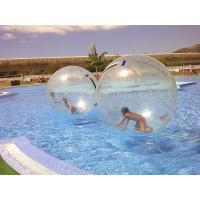 Wholesale Commercial Grade Clear 0.8mm PVC Water Walking Ball for swimming pool from china suppliers