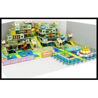 Wholesale Most Popular Indoor Playground with Ball Pool Indoor Playground Big Slides for Sale from china suppliers