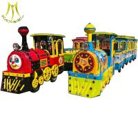 Wholesale Hansel  Amusement park  electric trackless train children train rides for sale from china suppliers