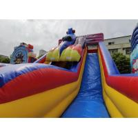 Wholesale OEM/ODM  Racing pirate inflatable water bounce house with slide for kids park from china suppliers