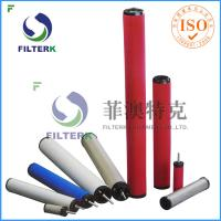 Wholesale K145 Series Air Compressor Filter Cartridge , Domnick Hunter Air Compressor Air Intake Filter from china suppliers